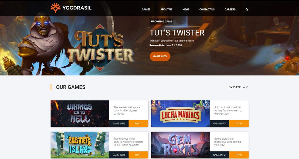 Spilleautomater fra Yggdrasil populære på norske casinoer